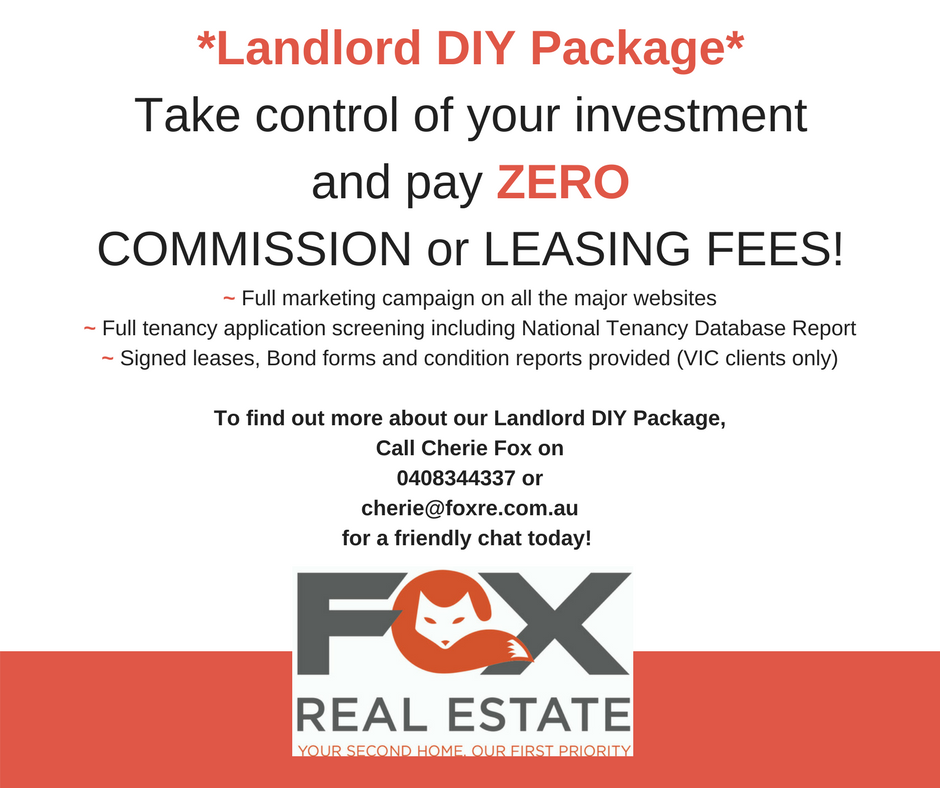 Ask about our DIY Landlord Package