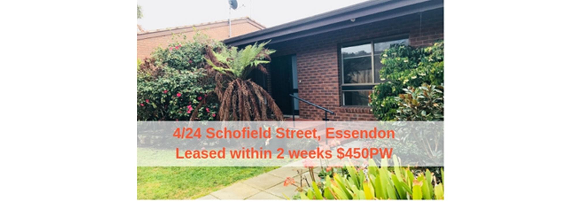 4/24 Schofield Street,Essendon
