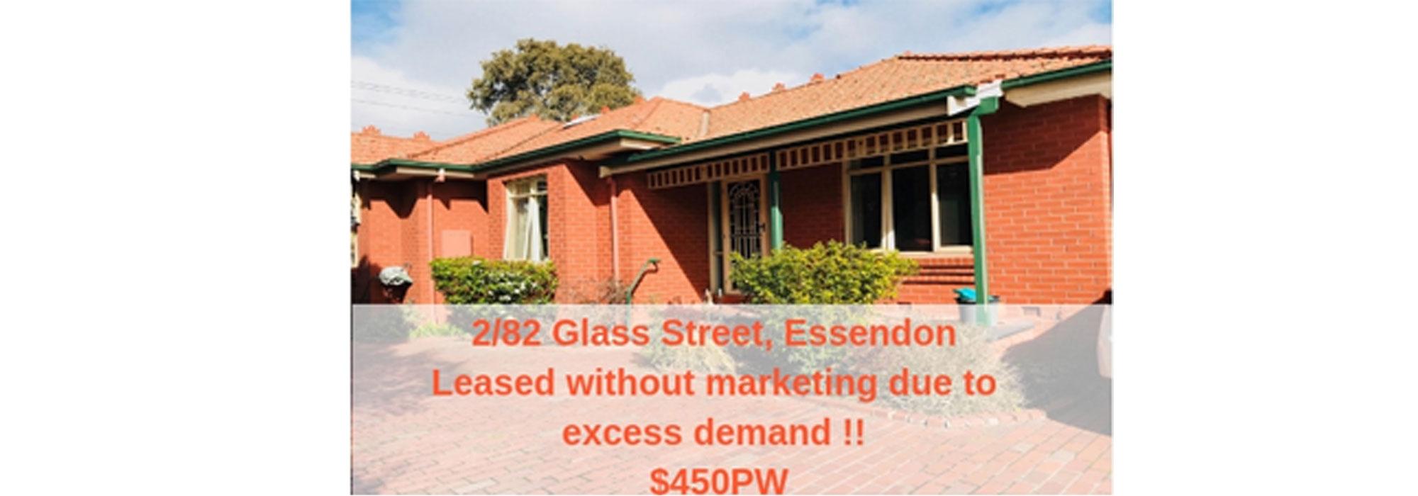 2/82 Glass  Street,Essendon