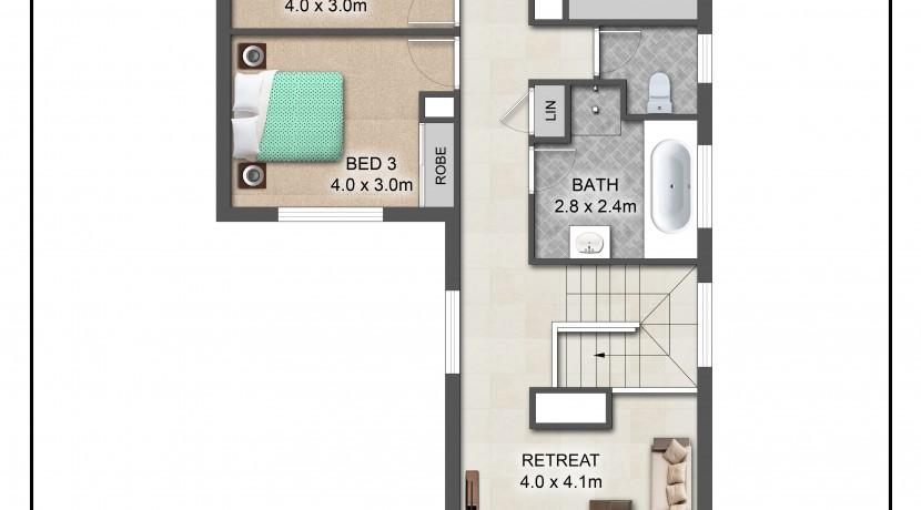 US floorplan
